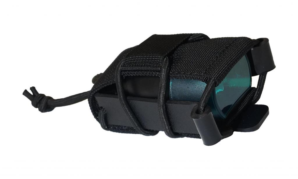 AUTHORITIES STICK MAGAZINE POUCHES 9MM BLACK