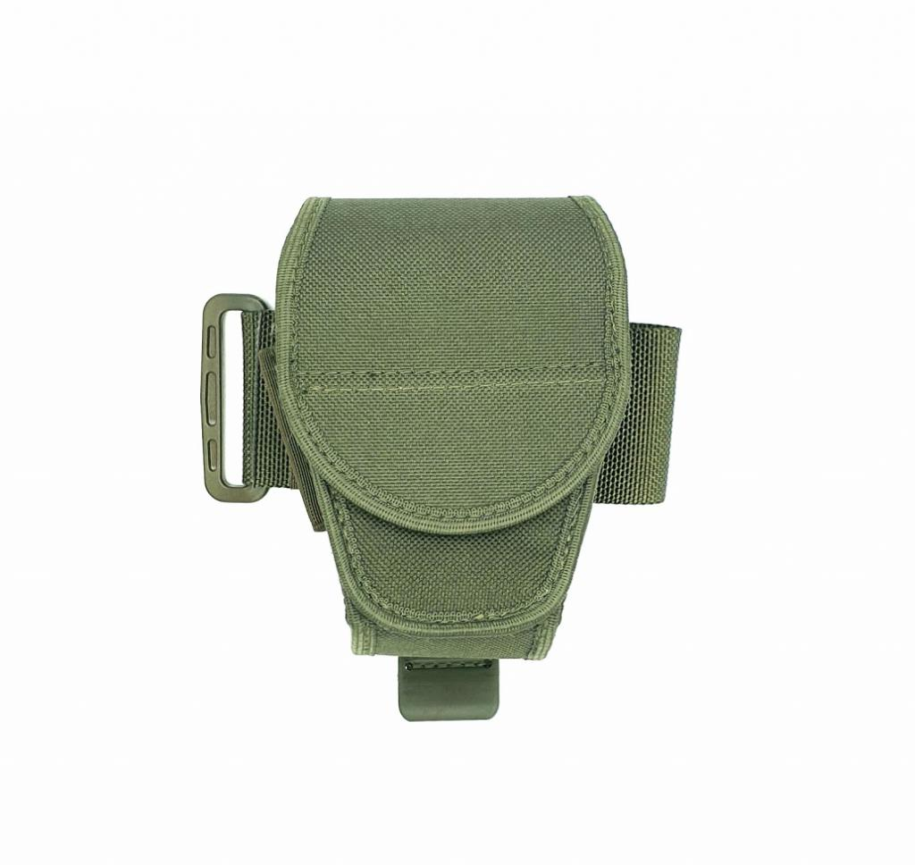 AUTHORITIES BUCKLE REPLACEMENT HANDCUFF CASE OLIVE