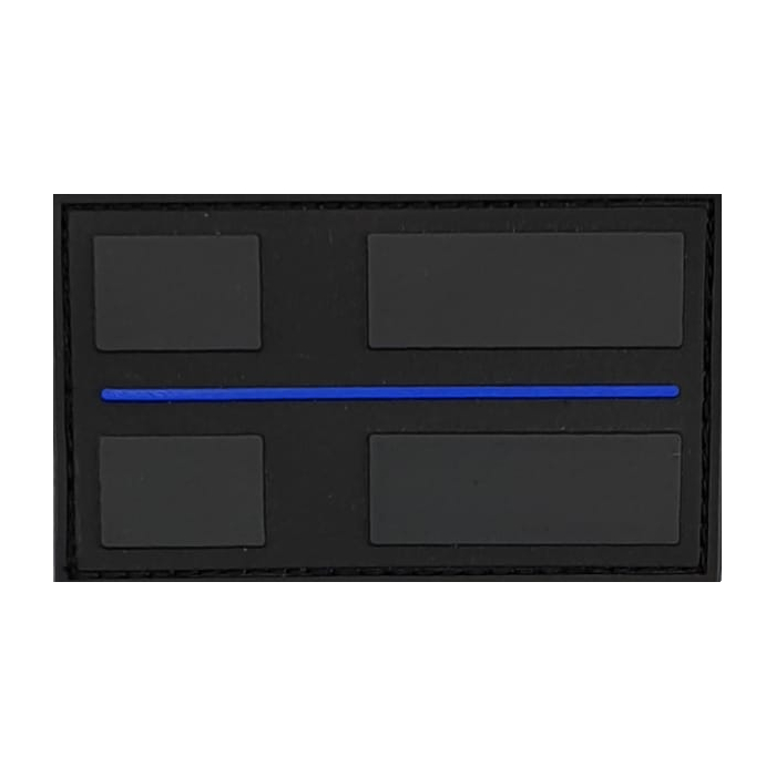 Thin Blue Line Patch 3D