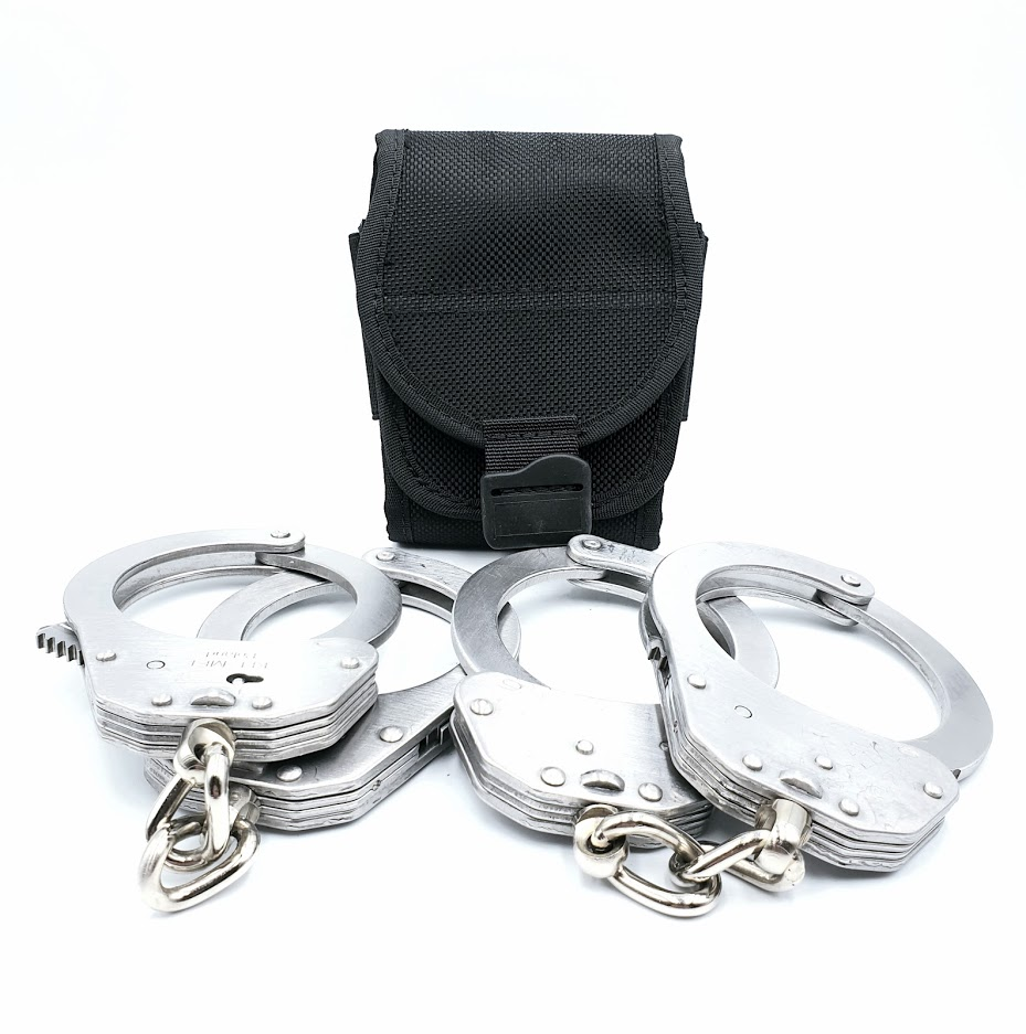 Authorities PRO Double Handcuff value pack!