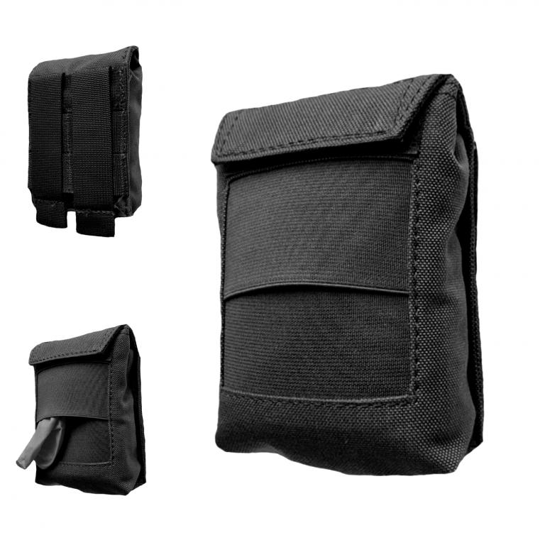 AUTHORITIES PRO POUCH FOR DISPOSABLE GLOVES Black