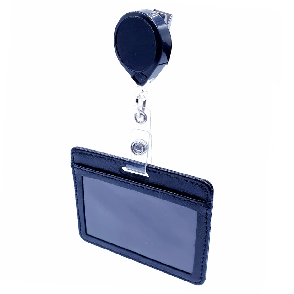 HORIZONTAL ID CARD HOLDER With KEY-BAK