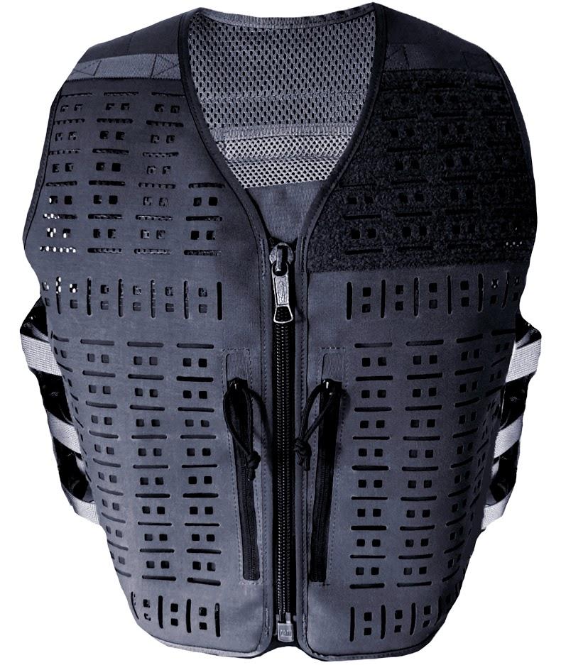 Authorities Tactical Vest BLACK - size UNIVERSAL