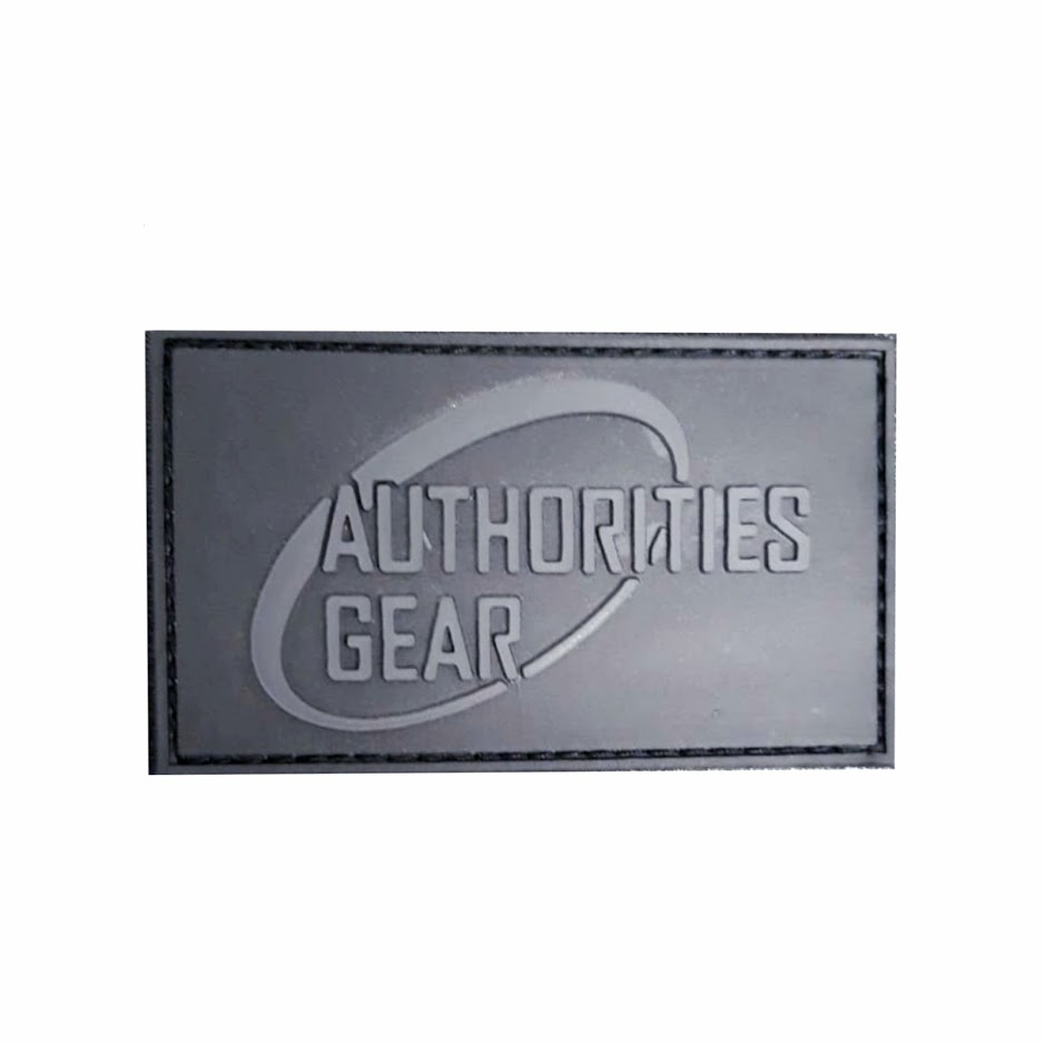 Authorities Gear 3D patch Black