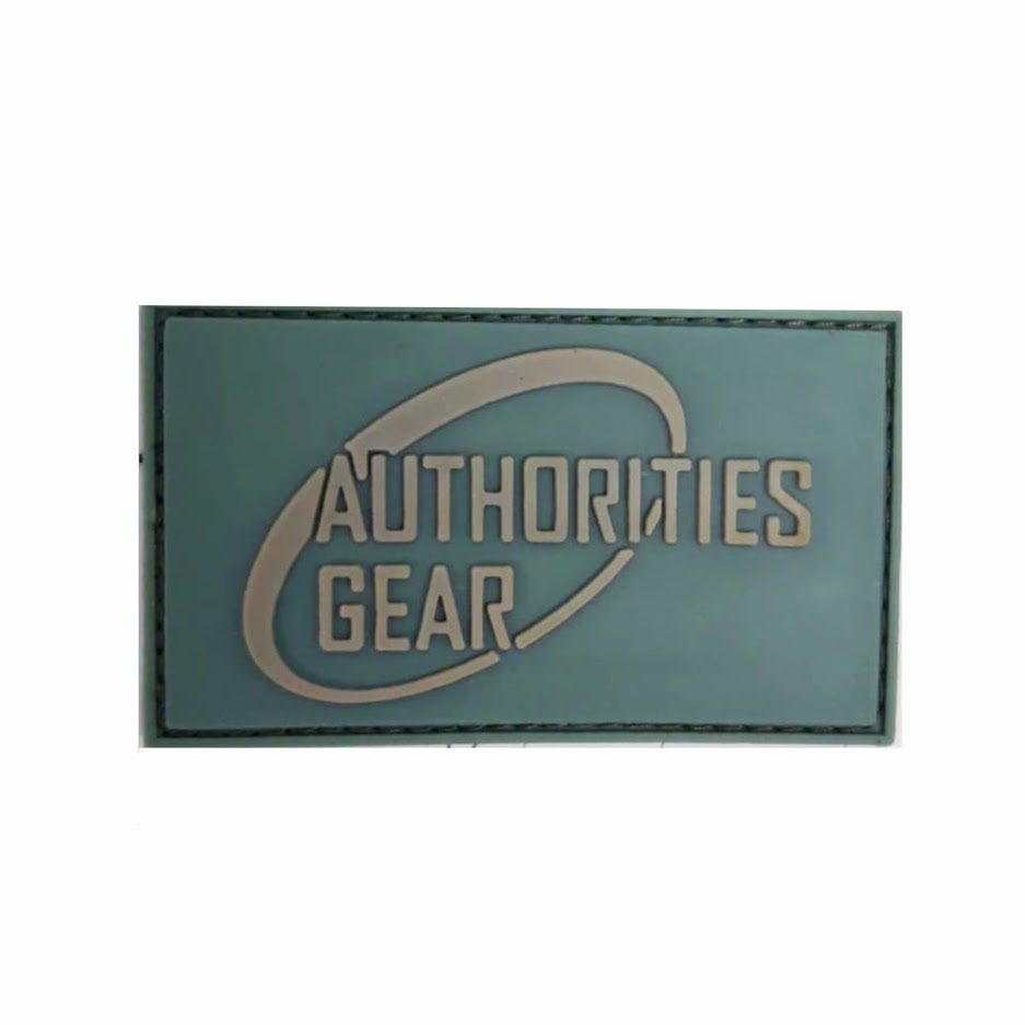 Authorities Gear 3D patch Olive/Coyote