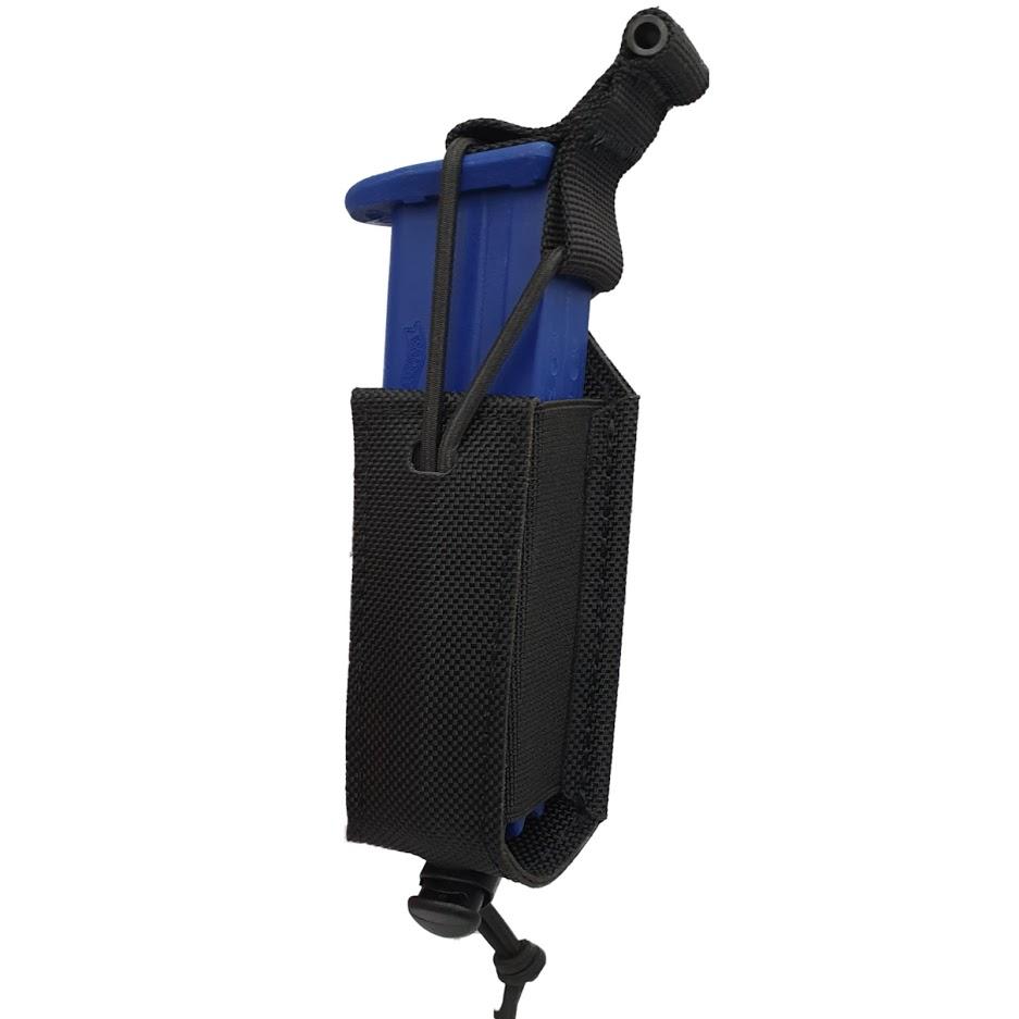 Authorities PRO 9mm magazine holster Black
