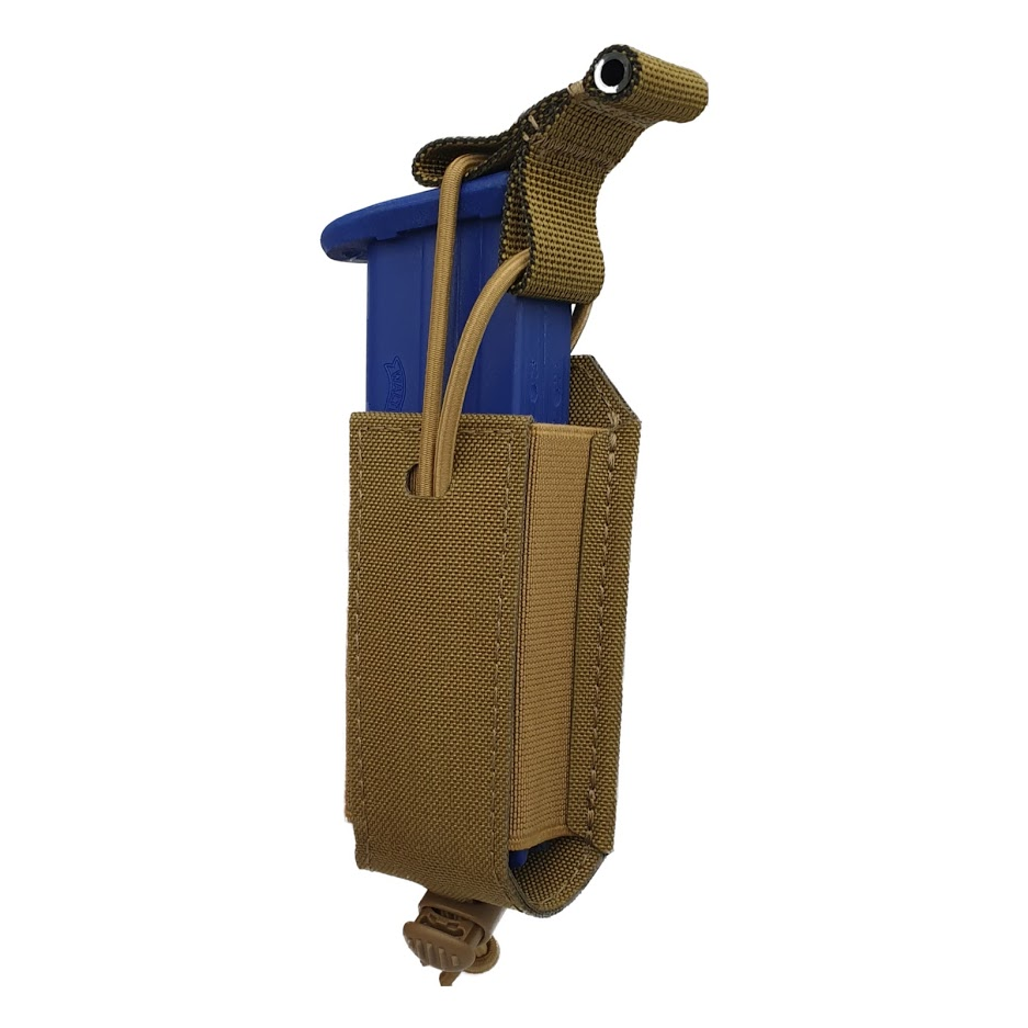 Authorities PRO 9mm magazine holster, MOLLE Coyote Tan