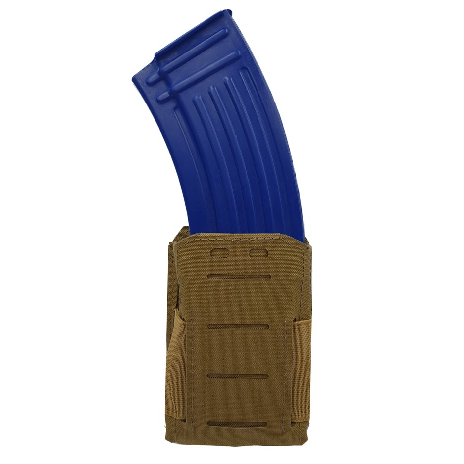 Authorities PRO Rifle magazine holster, AK/AR, MOLLE Coyote Tan