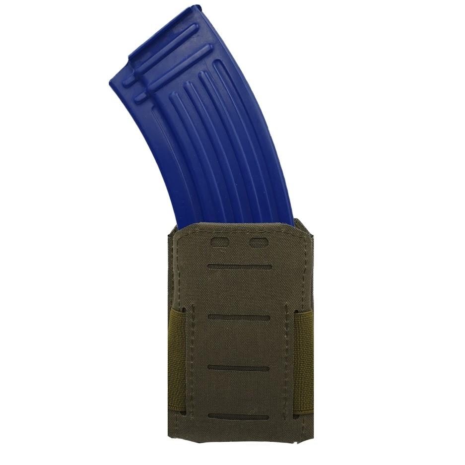 Authorities PRO Rifle magazine holster, AK/AR, MOLLE Ranger Green