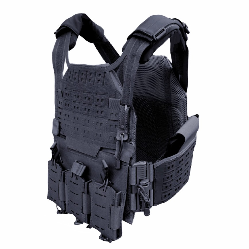 Authorities Advanced Plate Carrier Black