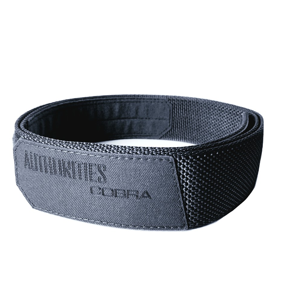 AUTHORITIES COBRA BELT SKIN BLACK