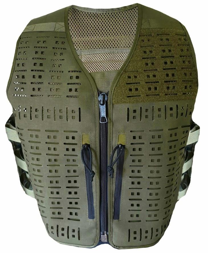 Authorities Tactical Vest RANGER GREEN - SIZE UNIVERSAL