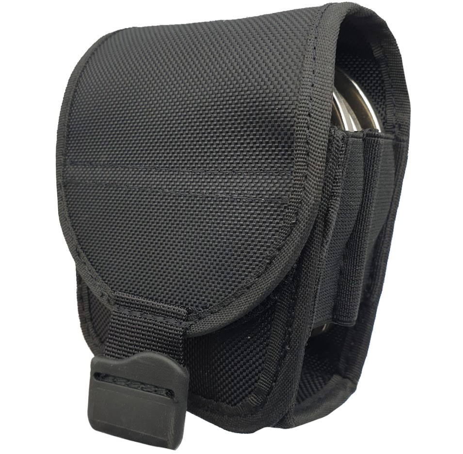 Authorities PRO-MOLLE DOUBLE Hand Cuff Pouch Black