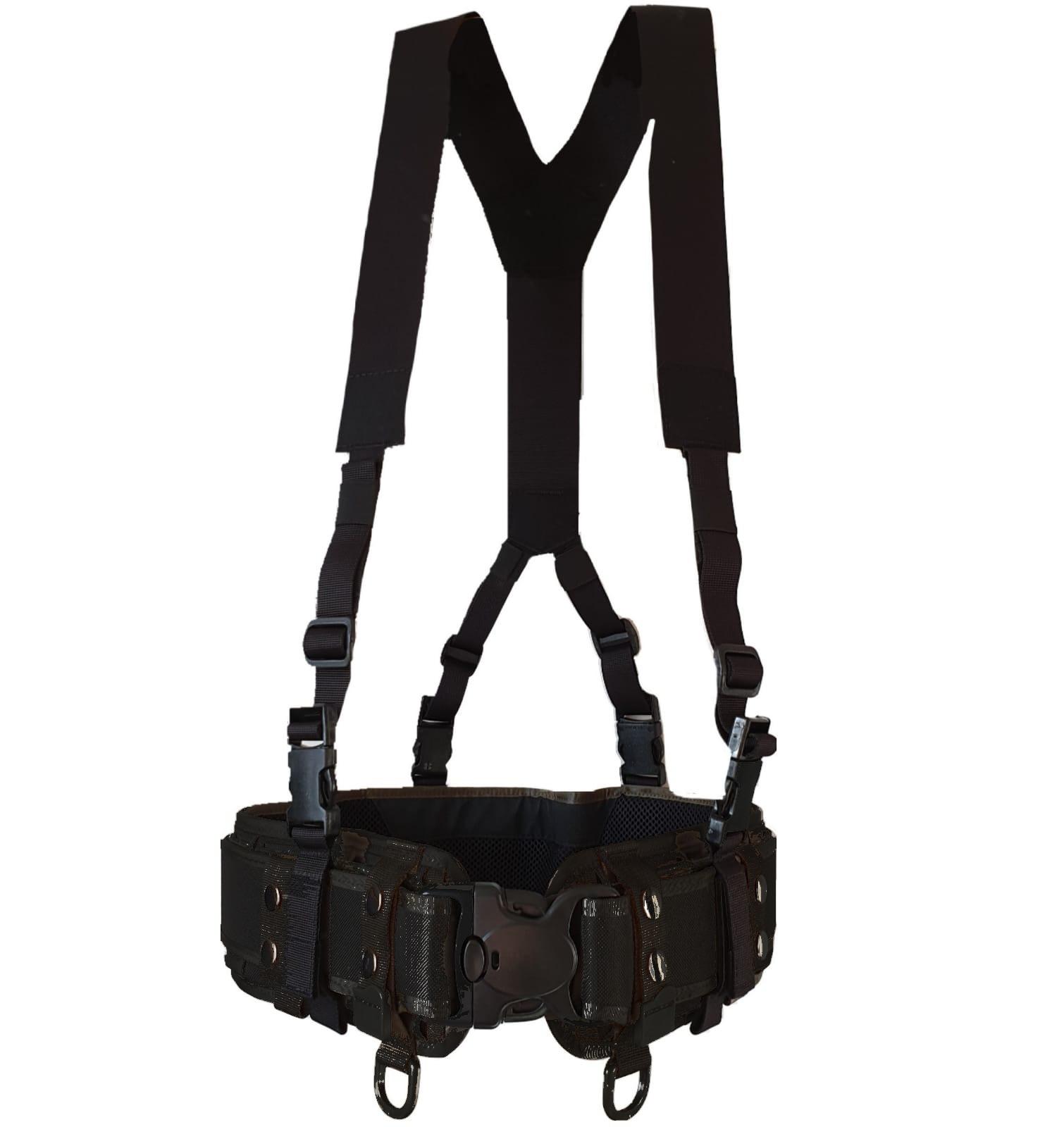 Authorities Suspenders, BLACK