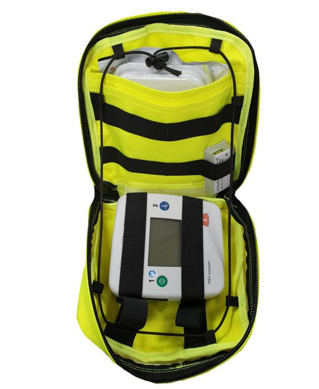 Authorities PRO Big Equipment Pouch Hi-Viz Yellow
