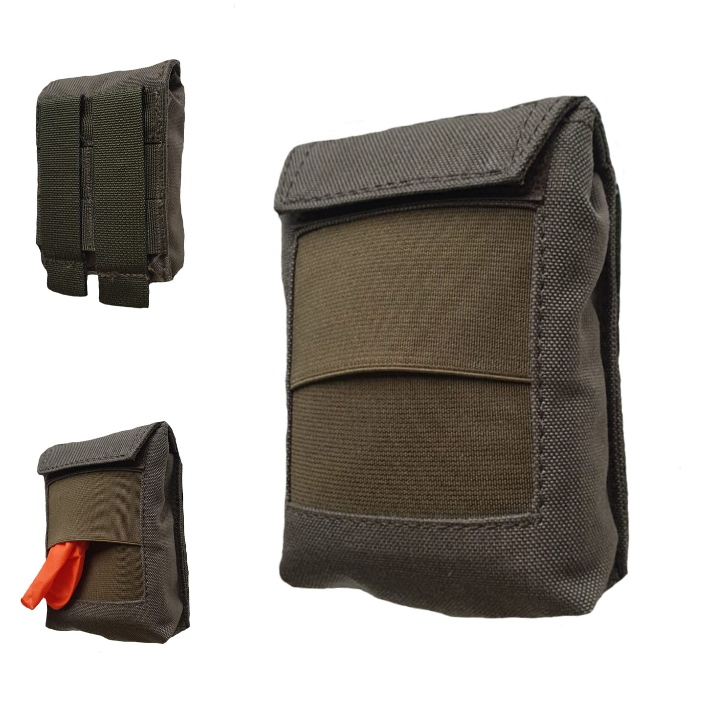 AUTHORITIES PRO POUCH FOR DISPOSABLE GLOVES RANGER GREEN