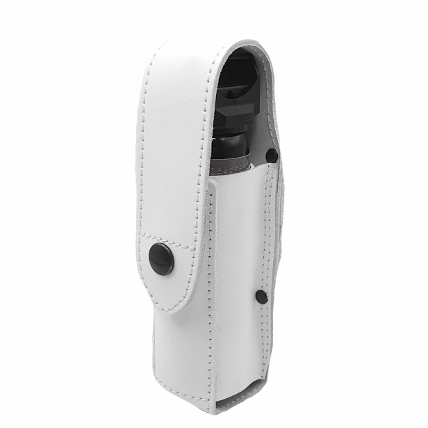 Authorities Pepper Spray Holster MK-4 Leather WHITE