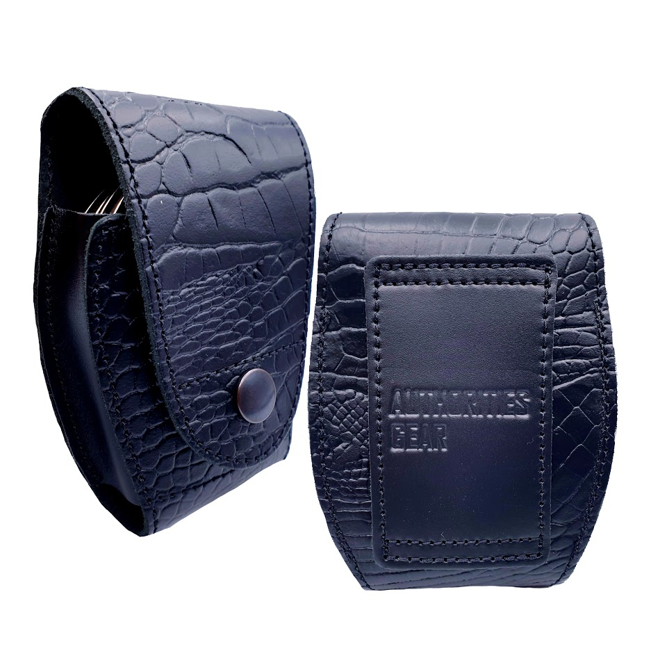 Authorities Leather Handcuff Case